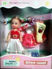 Кукла Элли в наборе с аксессуарами Defa 46406