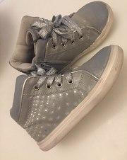 Высокие ботинки для девочки,  разм 25